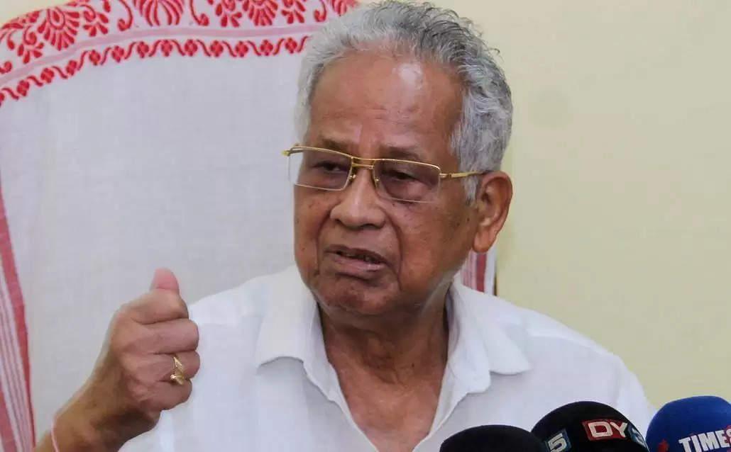 Former Assam CM Tarun Gogoi admitted to GMCH again
