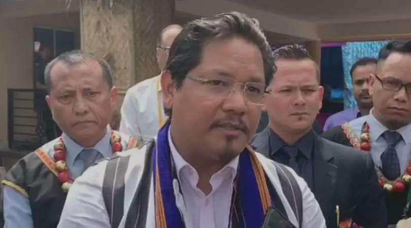 Meghalaya: Conrad justifies decision to accompany PM Modi to file nomination