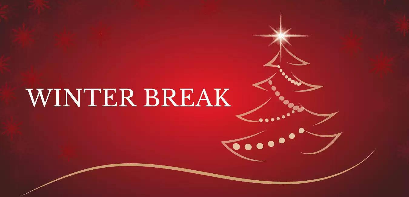 When Is Christmas Break 2021