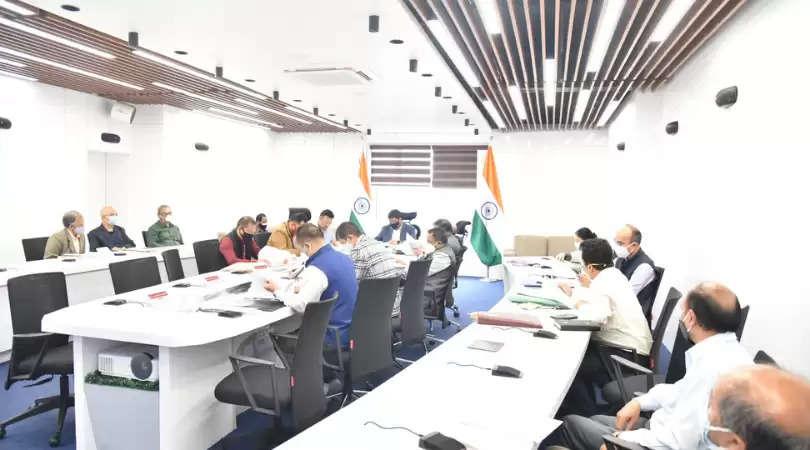 Meghalaya Cabinet Meeting