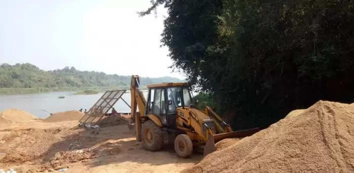 Meghalaya: GSU complains against Illegal sand mining in South Garo Hills